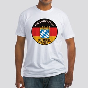 Rumpel Oktoberfest Fitted T-Shirt