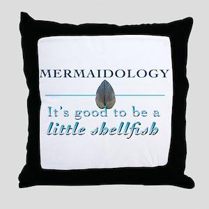 Mermaidology 01 Throw Pillow