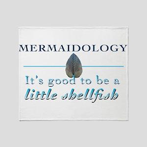Mermaidology 01 Throw Blanket