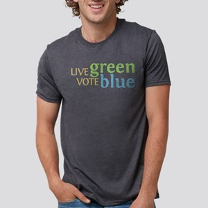 Live Green Vote Blue T-Shirt (Light) T-Shirt