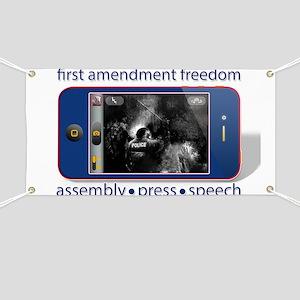 1st Amendment Freedoms Banner