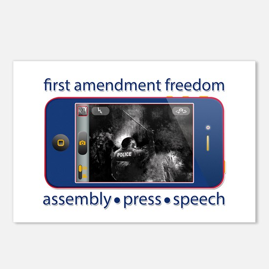 1st Amendment Freedoms Postcards (Package of 8)