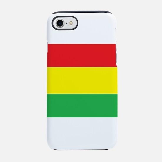 Rasta Stripes iPhone 8/7 Tough Case