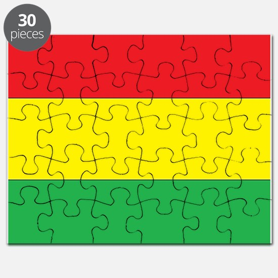 Rasta Stripes Puzzle
