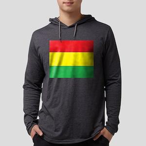 Rasta Stripes Long Sleeve T-Shirt