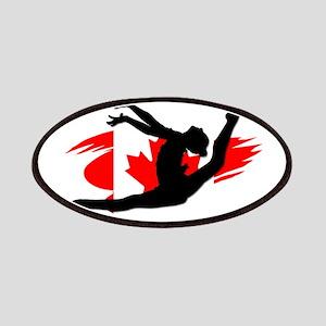 Canadian Gymnast Patch