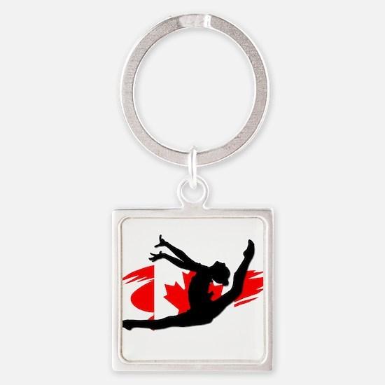 Canadian Gymnast Keychains