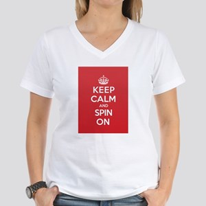 Keep Calm Spin T-Shirt