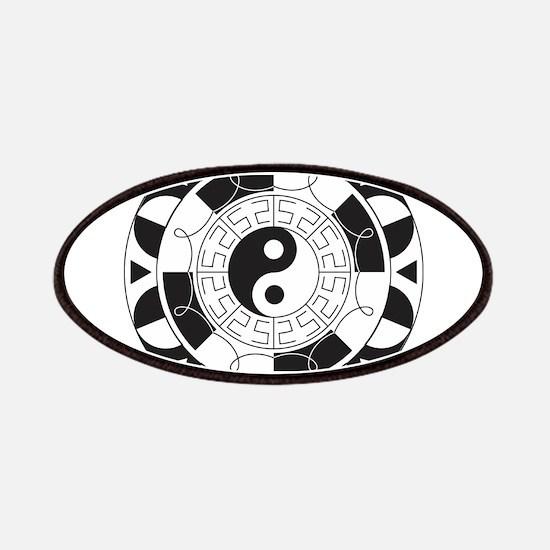 Yin & Yang Mandala Patch