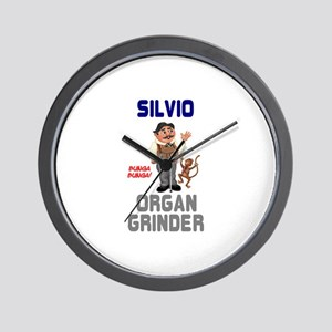 SILVIO THE ITALIAN ORGAN GRINDER - BUNG Wall Clock