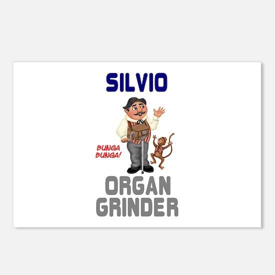 SILVIO THE ITALIAN ORGAN Postcards (Package of 8)