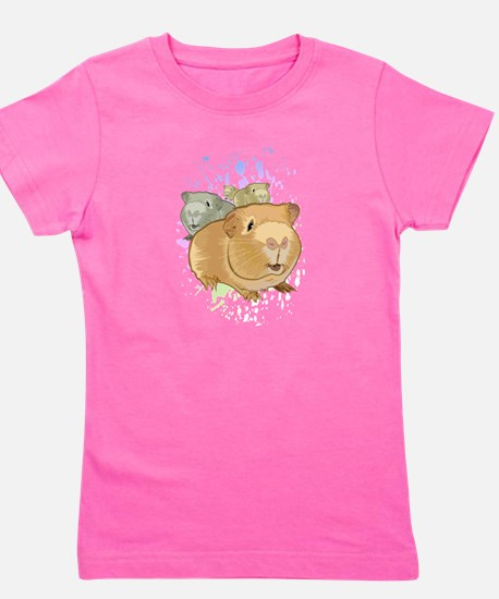 Funny Guinea pig Girl's Tee
