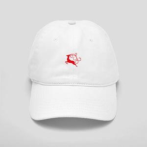 Xmas Reindeer Baseball Cap