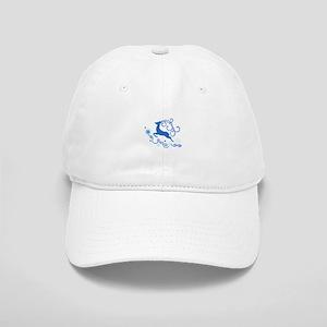 Reindeer And Snowflakes Baseball Cap