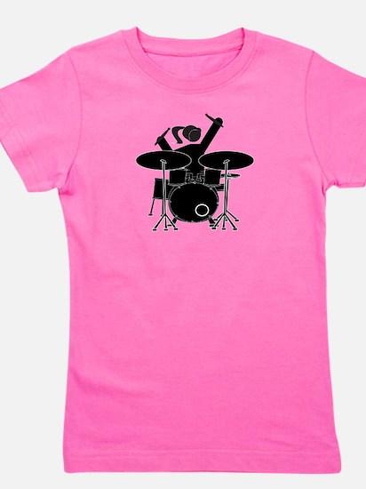 Drummer Girl Girl's Tee