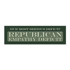 GOP Empathy Deficit Wall Decal