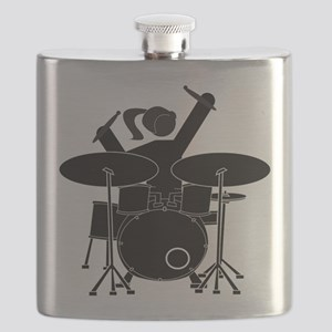 Drummer Girl Flask