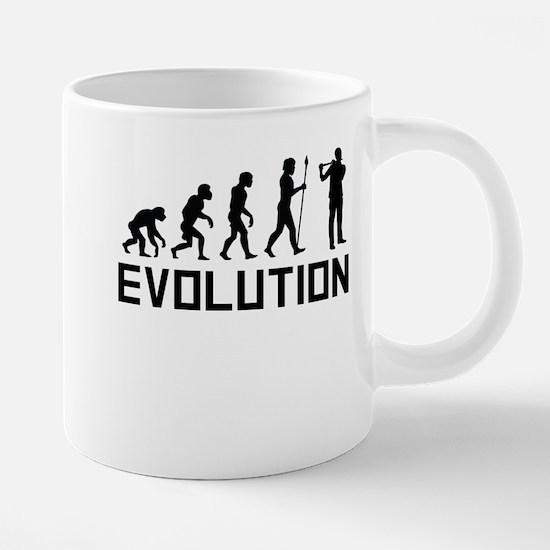 Flautist Evolution Mugs
