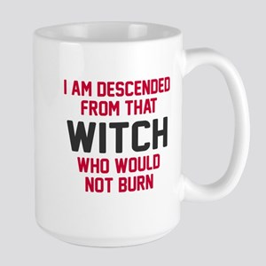 Witch who would not burn Mugs