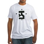 The Running Man Fitted T-Shirt