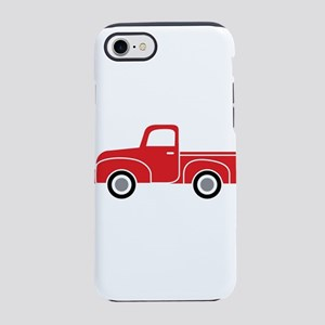 Vintage Red Truck iPhone 8/7 Tough Case