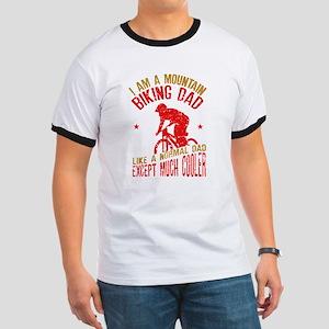 I Am A Mountain Biking Dad - Funny Men T-Shirt
