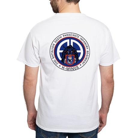 2nd / 505th PIR White T-Shirt