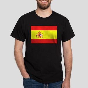 Spanish Flag Dark T-Shirt