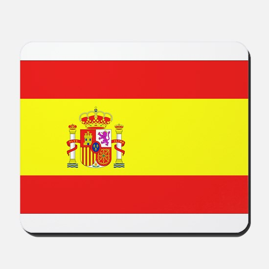 Spanish Flag Mousepad