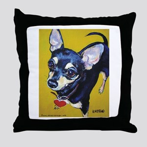Itty Bitty Chihuahua Throw Pillow