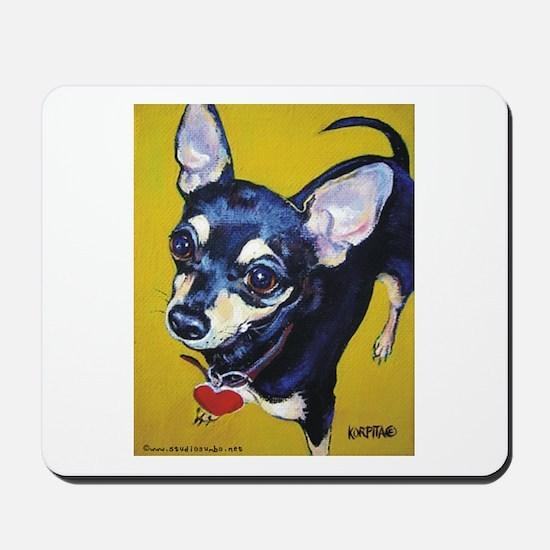 Itty Bitty Chihuahua Mousepad