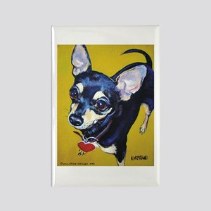 Itty Bitty Chihuahua Rectangle Magnet