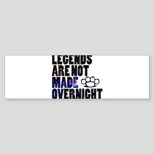 legends galaxy Bumper Sticker