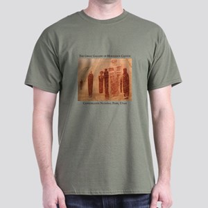 Great Gallery Pictographs Dark T-Shirt