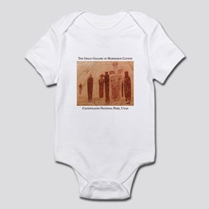 Great Gallery Pictographs Infant Bodysuit