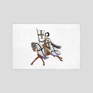 Teutonic Knight 4' x 6' Rug