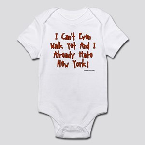 I Already Hate New York! Infant Bodysuit