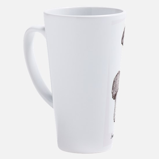 Cute Botany 17 oz Latte Mug