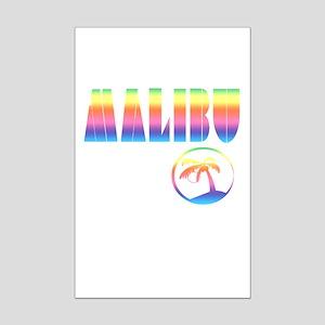MALIBU the Beautiful Mini Poster Print