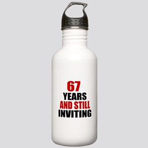 67 Year Still Inviting Stainless Water Bottle 1.0L