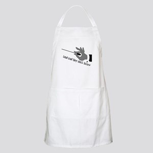 Lead And They Shall Follow BBQ Apron