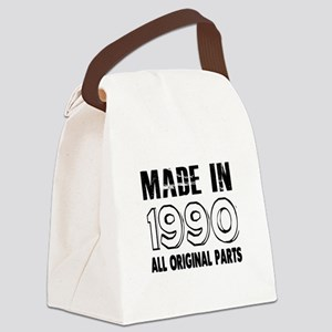 Made In 1990 Canvas Lunch Bag