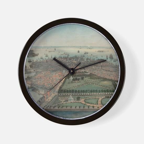 Unique Boston Wall Clock