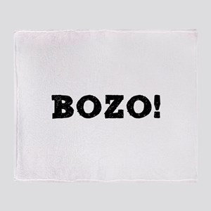 BOZO! Throw Blanket