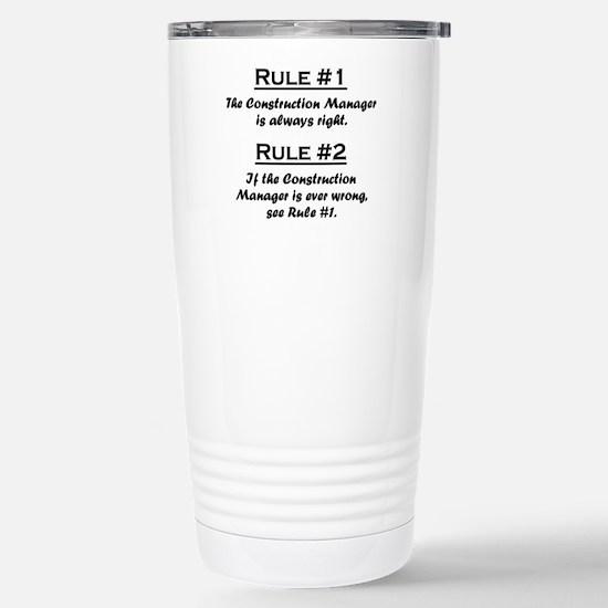 Construction Manager Large Mugs