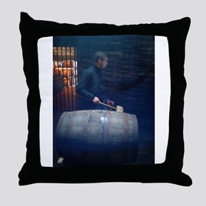The Warehouseman Throw Pillow