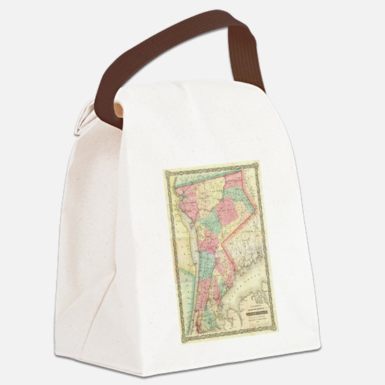 Ny Canvas Lunch Bag