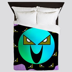 The Dimensional Invaders Queen Duvet