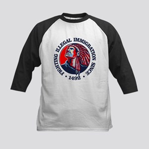 Native American (Illegal Immigration) Baseball Jer
