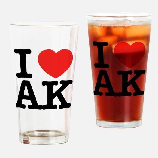 Cute Ak Drinking Glass